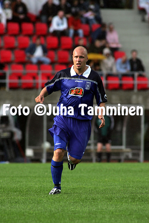 23.07.2005, Ratina, Tampere, Finland..UEFA Intertoto Cup, 3rd round, 2nd leg match.Tampere United v S.S. Lazio.Ville Lehtinen - TamU.©Juha Tamminen.....ARK:k