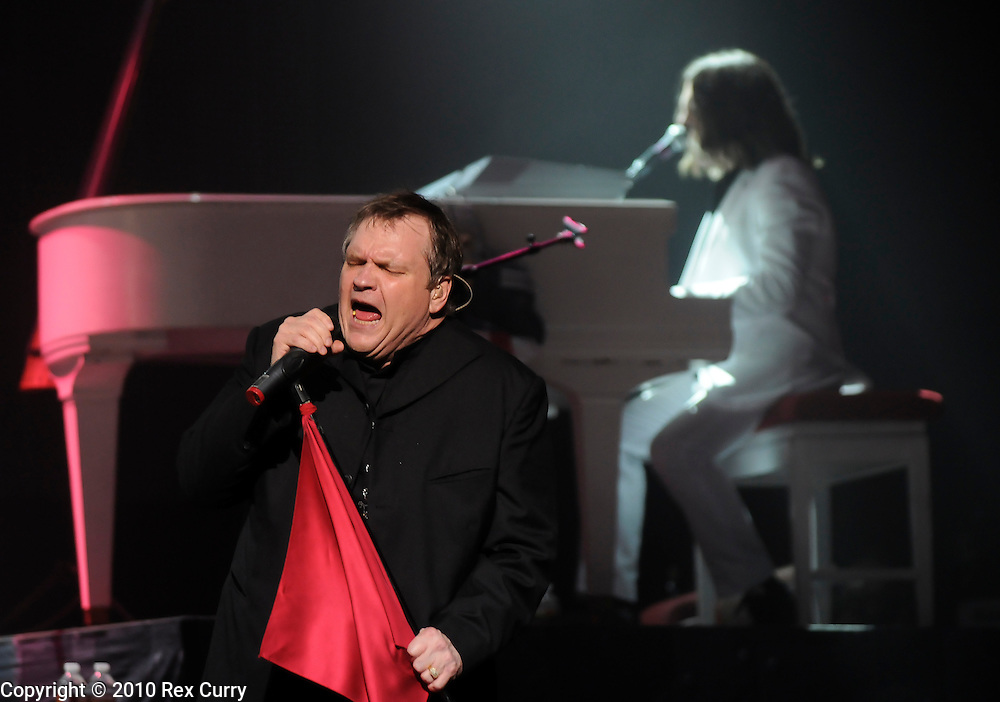Meat Loaf (Michael Lee Aday) performs at the House of Blues in Dallas, Tx on Aug. 26, 2010.