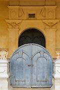 Entrance to the Dutch Reformed Church in Matara.