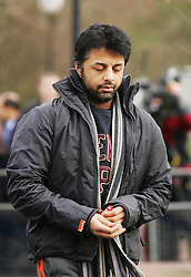 © under license to London News Pictures.  23/03/14 Shrien Dewani who's accused of arranging wife's honeymoon murder to be extradited from UK to South Africa on 7th Apr & to appear in court next day. FILE PICTURED DATED: 24/02/11 Shrien Dewani arriving at Belmarsh Crown Court today (24/02/2011). Shrien is a suspect in the murder of his newlywed wife Anni Dewani. Photo credit should read: Olivia Harris/ London News Pictures