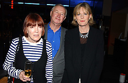 Left to right, Fashion designer MARY QUANT and SIR TERENCE & LADY CONRAN at the launch party for 'The London Look - Fashion From Street to Catwalk' held at the Museum of London, London Wall, Londom EC2 on 28th October 2004<br />