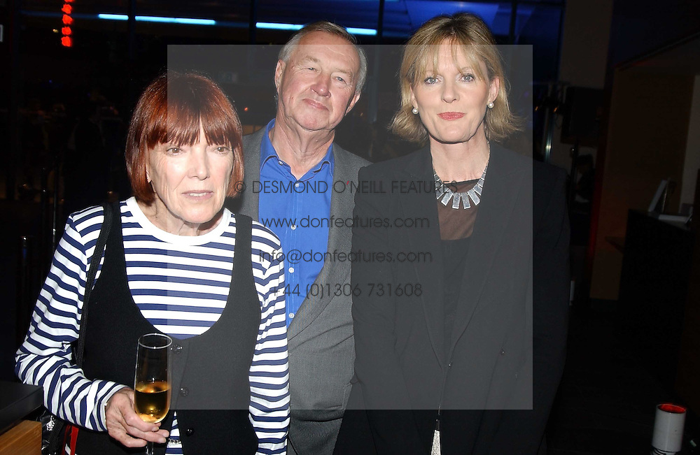 Left to right, Fashion designer MARY QUANT and SIR TERENCE & LADY CONRAN at the launch party for 'The London Look - Fashion From Street to Catwalk' held at the Museum of London, London Wall, Londom EC2 on 28th October 2004<br /><br />NON EXCLUSIVE - WORLD RIGHTS