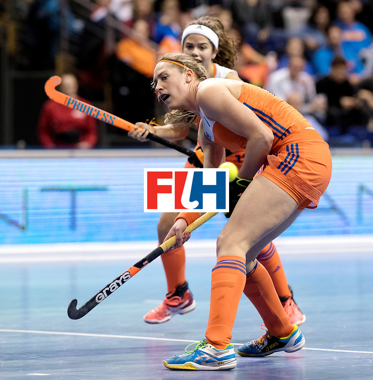 BERLIN - Indoor Hockey World Cup<br /> Quarterfinal 4: Netherlands - Czech Republic<br /> foto: <br /> WORLDSPORTPICS COPYRIGHT FRANK UIJLENBROEK