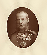 'Frederick Sleight Roberts, 1st Earl Roberts (1832-1914) c1880, English soldier. He won the Victoria Cross during the Indian Mutiny. Commander-in-Chief of British Army 1900-1905. Field-Marshal 1895.'