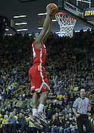January 07, 2011: Ohio State Buckeyes guard William Buford (44) puts the ball in during the the NCAA basketball game between the Ohio State Buckeyes and the Iowa Hawkeyes at Carver-Hawkeye Arena in Iowa City, Iowa on Saturday, January 7, 2012.