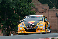 #25 Matt Neal GBR Halfords Yuasa Racing Honda Civic Type R  during first practice for the BTCC Oulton Park 4th-5th June 2016 at Oulton Park, Little Budworth, Cheshire, United Kingdom. June 04 2016. World Copyright Peter Taylor/PSP.