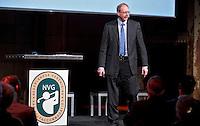 UTRECHT -  Spreker BEREND RUBINGH tijdens het NVG congres met als thema 'vinden& binden'. COPYRIGHT KOEN SUYK