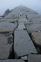 Sam Abell Workshop ~ Sunrise at Breakwater Light Rockland, Maine.  ©2017 Karen Bobotas Photographer