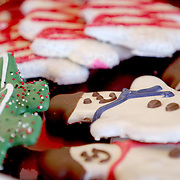 Woof Gang's gourmet pet treats are pictured Sunday November 30, 2014 at Woof Gant Bakery in Wilmignton, N.C. (Jason A. Frizzelle)