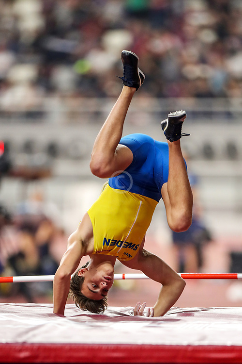 2019 IAAF World Athletics Championships held in Doha, Qatar from September 27- October 6<br /> Day 2<br /> Sweden men pole vault
