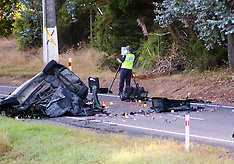 Auckland-Fatal accident at Maraetai