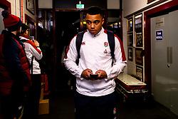 Max Ojomoh of England - Mandatory by-line: Robbie Stephenson/JMP - 07/02/2020 - RUGBY - Myreside - Edinburgh, Scotland - Scotland U20 v England U20 - Six Nations U20