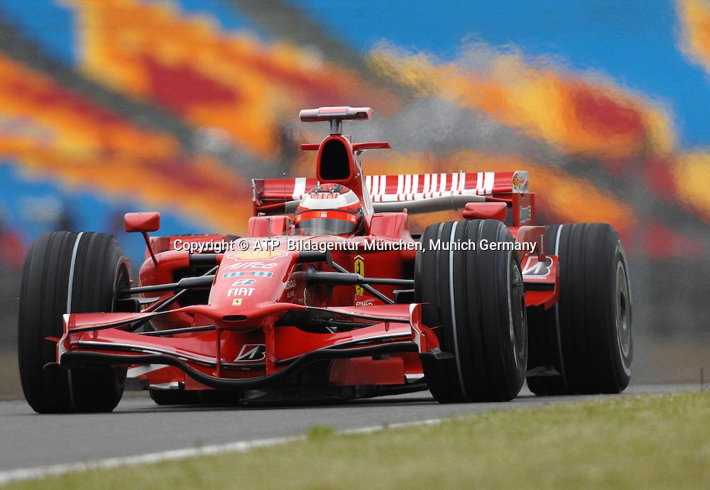 Kimi Raikkonen, Scuderia  Ferrari, ISTANBUL, T&Uuml;RKEI, Turkey, 10.05.2008 - Formula 1 Grand Prix of Turkey - <br /> - 2008 - Formel 1 -  F1 GP der T&uuml;rkei, Tuerkei, - <br /> Foto: &copy; ATP Lukas GORYS