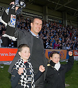 Ayr boss Brian Reid - Brechin City v Ayr United, IRN BRU Scottish Football League 1st/2nd Division Play Off Final 2nd leg at Glebe Park..© David Young Photo.5 Foundry Place.Monifieth.Angus.DD5 4BB.Tel: 07765252616.email: davidyoungphoto@gmail.com.http://www.davidyoungphoto.co.uk