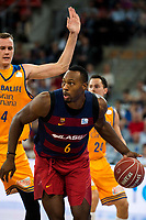 FC Barcelona Lassa player Joey Dorsey during the final of Supercopa of Liga Endesa Madrid. September 24, Spain. 2016. (ALTERPHOTOS/BorjaB.Hojas)