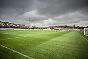 Wham Stadium during the The FA Cup match between Accrington Stanley and York City at the Fraser Eagle Stadium, Accrington, England on 7 November 2015. Photo by Simon Davies.