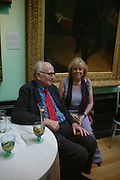 Lord and Lady Ravensdale. Celebration of Lord Weidenfeld's 60 Years in Publishing hosted by Orion. the Weldon Galleries. National Portrait Gallery. London. 29 June 2005. ONE TIME USE ONLY - DO NOT ARCHIVE  © Copyright Photograph by Dafydd Jones 66 Stockwell Park Rd. London SW9 0DA Tel 020 7733 0108 www.dafjones.com
