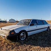1986 Honda Accord Limousoine, Stafford Kansas, December 2017