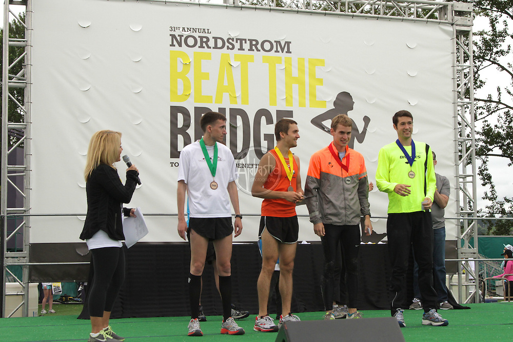 31st Annual Nordstrom Beat the Bridge, benefitting JDRF - Awards and performance.