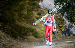 19.12.2014, Nordische Arena, Ramsau, AUT, FIS Nordische Kombination Weltcup, Skisprung, Training, im Bild Akito Watabe (JPN) // during Ski Jumping of FIS Nordic Combined World Cup, at the Nordic Arena in Ramsau, Austria on 2014/12/19. EXPA Pictures © 2014, EXPA/ JFK