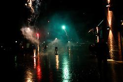 GERMANY ECKERNFOERDE1JAN13 - Fireworks after midnight during New Year's eve at Eckernfoerde harbour, north Germany.....jre/Photo by Jiri Rezac....© Jiri Rezac 2013