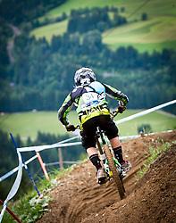 12.06.2011, Bikepark, Leogang, AUT, UCI MOUNTAINBIKE WORLDCUP, LEOGANG, im Bild Feature Downhill Mountainbike // during the UCI MOUNTAINBIKE WORLDCUP, LEOGANG, AUSTRIA, 2011-06-12, EXPA Pictures © 2011, PhotoCredit: EXPA/ J. Feichter