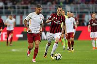 01.10.2017 - Milano  Serie A 7a   giornata  -  Milan-Roma  nella  foto: Aleksandar Kolarov