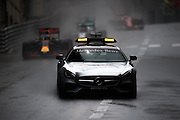 May 25-29, 2016: Monaco Grand Prix. F1 Safety Car leads the field