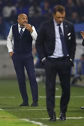 """Foto Filippo Rubin<br /> 07/10/2018 Ferrara (Italia)<br /> Sport Calcio<br /> Spal - Inter - Campionato di calcio Serie A 2018/2019 - Stadio """"Paolo Mazza""""<br /> Nella foto: LUCIANO SPALLETTI (ALLENATORE INTER)<br /> <br /> Photo Filippo Rubin<br /> October 07, 2018 Ferrara (Italy)<br /> Sport Soccer<br /> Spal vs Inter - Italian Football Championship League A 2018/2019 - """"Paolo Mazza"""" Stadium <br /> In the pic: LUCIANO SPALLETTI (INTER TRAINER)"""