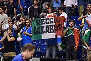 DESCRIZIONE : Berlino Berlin Eurobasket 2015 Group B Germany Germania - Italia Italy<br /> GIOCATORE : Tifosi Pubblico Spettatori Reggio Calabria<br /> CATEGORIA : Tifosi Pubblico Spettatori<br /> SQUADRA : Italia Italy<br /> EVENTO : Eurobasket 2015 Group B<br /> GARA : Germany Italy - Germania Italia<br /> DATA : 09/09/2015<br /> SPORT : Pallacanestro<br /> AUTORE : Agenzia Ciamillo-Castoria/GiulioCiamillo