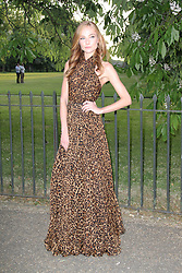© London News Pictures. 26/06/2013. London, UK. Clara Paget  at  The Serpentine Gallery summer party, Kensington Gardens London UK, 26 June 2013, Photo credit: Richard Goldschmidt/LNP