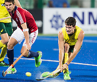 RAIPUR (India) .  Matt Gohdes (Aus) scores.   . Hockey Wold League Final  men . AUSTRALIA v GREAT BRITAIN.   © Koen Suyk / Treebypictures