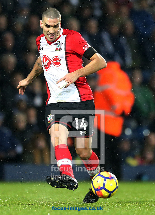 Oriol Romeu of Southampton during the Premier League match at The Hawthorns, West Bromwich<br /> Picture by Simon Moore/Focus Images Ltd 07807 671782<br /> 03/02/2018