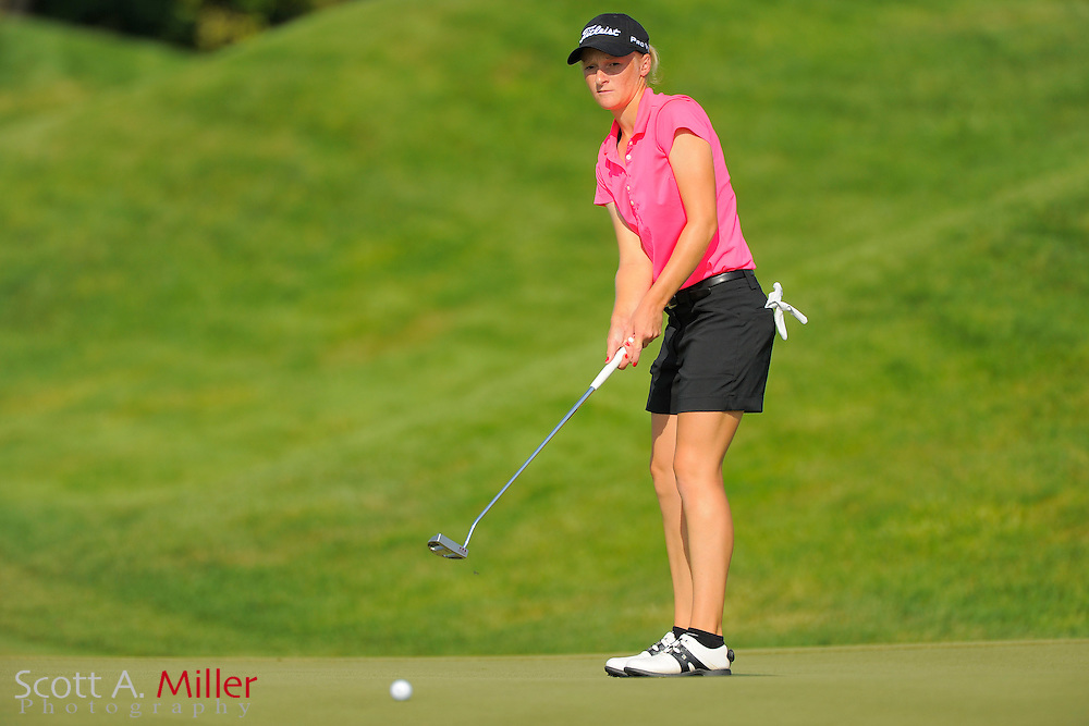 Aimee Neff during the first round for the US Women's Open at Blackwolf Run on July 5, 2012 in Kohler, Wisconsin. ..©2012 Scott A. Miller