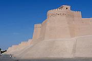 Uzbekistan, Khiva. Khuna Ark.