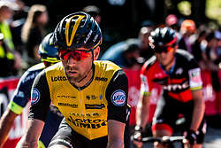 Paul MARTENS of Team LottoNL-Jumbo during the last climb at Mur de Huy of the 2018 La Flèche Wallonne race, Huy, Belgium, 18 April 2018, Photo by Pim Nijland / PelotonPhotos.com | All photos usage must carry mandatory copyright credit (Peloton Photos | Pim Nijland)