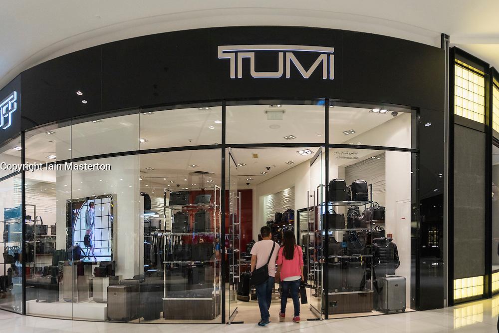Tumi luggage  shop in Dubai Mall Dubai United Arab Emirates