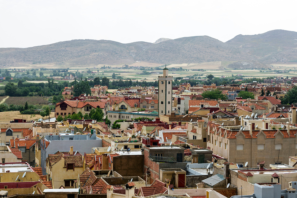 Azrou, a small town in the beautiful Middle Atlas region of Morocco