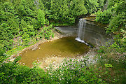 Kagawong River at Bridal Veil Falls in Kagawong<br /> Manitoulin Island<br /> Ontario<br /> Canada