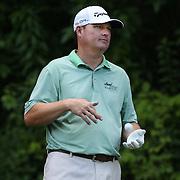 Chad Campbell, USA, in action during the first round of the Travelers Championship at the TPC River Highlands, Cromwell, Connecticut, USA. 19th June 2014. Photo Tim Clayton
