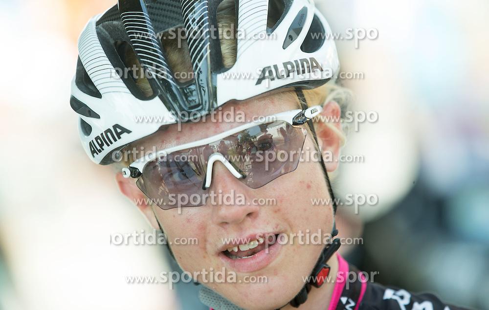 Spela Kern (SLO) of BTC City Ljubljana Team after the Stage 1 (102,5 km) from Kamnik to Ljubljana at 26th Giro Rosa 2015 Women cycling race, on July 4, 2015 in BTC City, Ljubljana,  Slovenia. Photo by Vid Ponikvar / Sportida