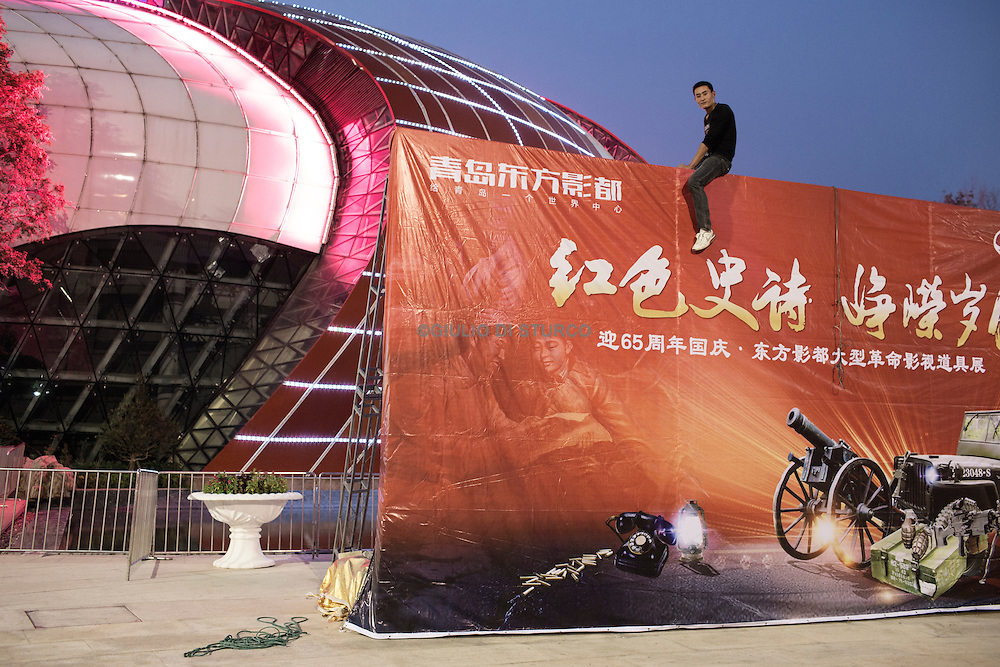 Qingdao Oriental Movie Metropolis is a major measure to implement the national policy of building a cultural power, a major strategy for Wanda&rsquo;s cultural industry development and a major attempt to create China&rsquo;s global cultural brands <br /> <br /> The grand plan for the 376-hectare (900-acre) Qingdao Oriental Movie Metropolis.<br /> The Wanda Group complex would boast more than 20 studios when it becomes fully operational in June 2017: One would be the world&rsquo;s largest, while another would be fixed underwater. The Movie Metropolis would also house China&rsquo;s largest film museum, the nation&rsquo;s largest celebrity wax museum, an Imax research laboratory and theaters that can accommodate as many as 3,000 people.