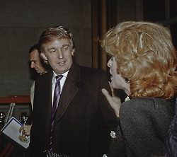 December 4, 1988 - Washington, District of Columbia, U.S - Donald Trump arrives at the Kennedy Center for the Performing Arts to attend the annual Kennedy Center Honors Awards program (Credit Image: © Mark Reinstein via ZUMA Wire)