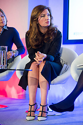 © Licensed to London News Pictures. 12/10/2015. London, UK. BARONESS KARREN BRADY speaking at the event. The launch of the Britain Stronger in Europe campaign at the Truman Building in London. The campaign is being by led by Former M&S chairman, Lord Stuart Rose. Photo credit: Ben Cawthra/LNP