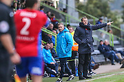 Forest Green Rovers manager, Mark Cooper during the Vanarama National League match between Forest Green Rovers and Aldershot Town at the New Lawn, Forest Green, United Kingdom on 5 November 2016. Photo by Shane Healey.