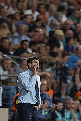 September 20, 2018 - Villarreal, Spain - Steven Gerrard head coach of Rangers reacts during the UEFA Europa League group G match between Villarreal CF and Rangers at Estadio de la Ceramica on September 20, 2018 in Vila-real, Spain  (Credit Image: © David Aliaga/NurPhoto/ZUMA Press)