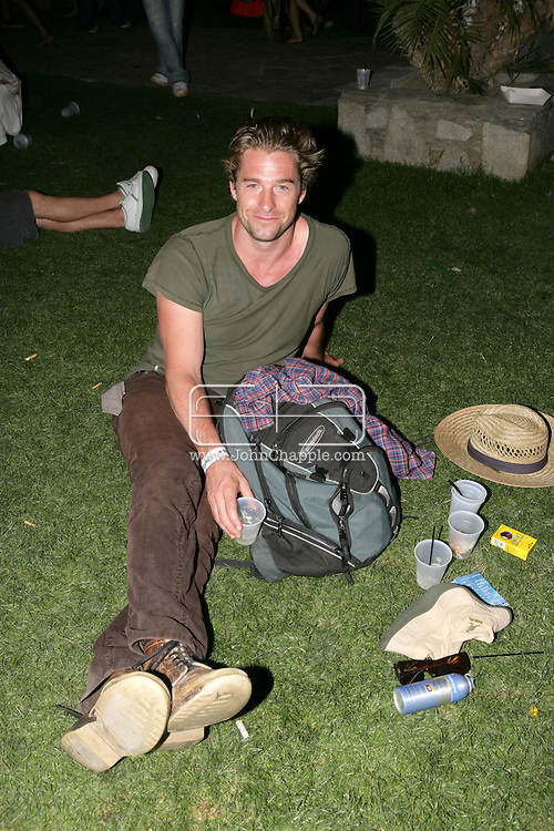26th April 2008, Coachella, California. Actor Scott Speedman at the Coachella Music festival. PHOTO © JOHN CHAPPLE / REBEL IMAGES