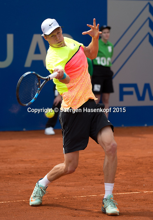 BMW Open 2015, Jan Choinski  (GER)<br /> Tennis - ATP -  Muenchen  - Germany  -