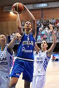 LATINA EUROBASKET 2012 ITALIA - GRECIA<br /> NELLA FOTO: SABRINA CINILI<br /> CIAMILLO