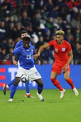 MOISE KEAN (ITALY)     <br /> Football friendly match Italy vs England u21<br /> Ferrara Italy November 15, 2018<br /> Photo by Filippo Rubin